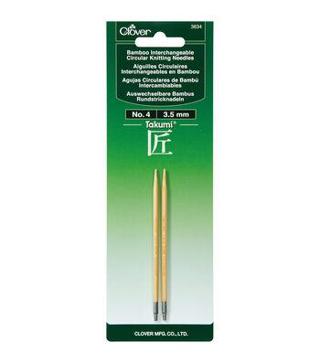 Clover Takumi Interchangeable Circular Knitting Needles Size 4/3.5mm