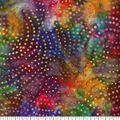 Legacy Studio Indonesian Batiks Cotton Fabric -Dotted Swirls Black