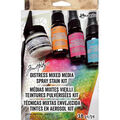 Tim Holtz Distress 18 Pack Mixed Media Spray Stain Kit
