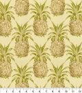 Waverly Sun N Shade Fabric-Pineapple Grove Natural