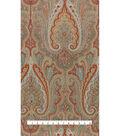 Waverly Upholstery Fabric 13x13\u0022 Swatch-Set the Mood Twilight