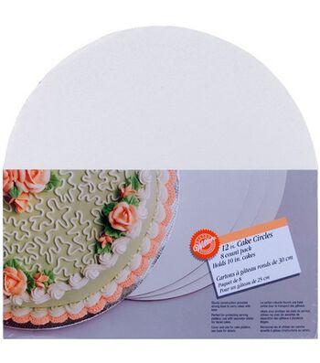 Wilton 12'' Cake Circles-8/Pkg