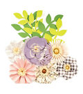 Prima Marketing Spring Farmhouse 10 pk 2\u0027\u0027 Paper Flowers-Gather