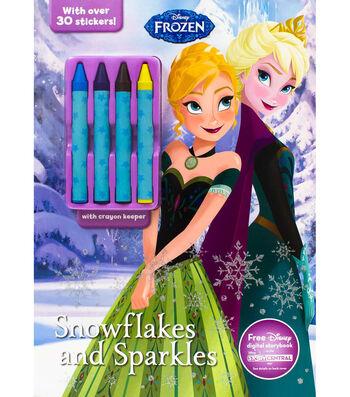 Parragon Disney Frozen Snowflakes & Sparkles Activity Book