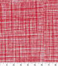 Quilter\u0027s Showcase Cotton Fabric -Screen Blender on Red