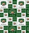 Ohio University Bobcats Cotton Fabric -Block