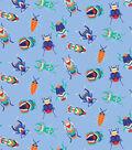 Snuggle Flannel Fabric -Crystal Multi Bugs