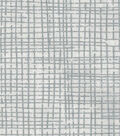 Keepsake Calico Cotton Fabric 43\u0022-Crosshatch Silver Metallic