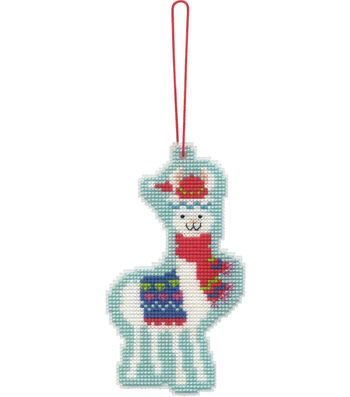 Stitch Kit Ornament-Llama