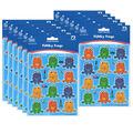 Carson Dellosa Funky Frogs Shape Stickers 12 Packs