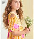 Simplicity Pattern 8352 Children\u0027s/Girls\u0027 Dress-Size HH (3-4-5-6)
