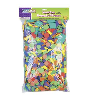 WonderFoam Pound of Foam™, Assorted Colors & Sizes, 1 lb.