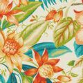 Tommy Bahama Outdoor Fabric 9\u0022x9\u0022 Swatch-Botanical Glow Tiger Lily