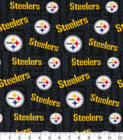 Pittsburgh Steelers Cotton Knit Fabric, , hi-res