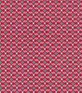 Patriotic Cotton Fabric 43\u0027\u0027-Star & Scrolls on Red