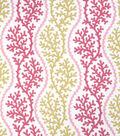 Home Decor 8\u0022x8\u0022 Fabric Swatch-Eaton Square Ducks Pink Coral