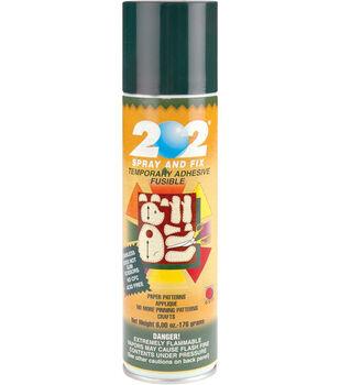 Odif USA 202 Spray & Fix 6 oz. Temporary Fusible Adhesive Spray