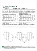 Vogue Patterns Mens Top-V8889