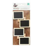 American Crafts DIY Shop 2 Framed Chalkboard Label Clips, , hi-res