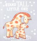 No Sew Fleece Throw Kit 48\u0027\u0027x60\u0027\u0027-Stand Tall Little One