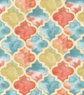 Premium Quilt Cotton Fabric 44\u0022-Watercolor Tiles