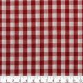 Cotton Shirting Fabric 42\u0027\u0027-Red & White Little Gingham