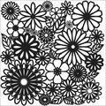 Crafter\u0027s Workshop Templates Flower Frenzy