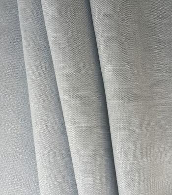 Specialty Linen Fabric -Vapor Blue Solid