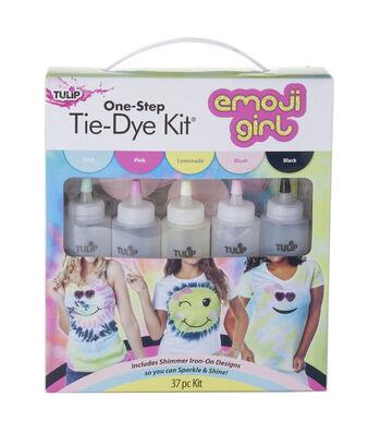 Tulip One-Step Tie-Dye Kit-Emoji Girl Shimmer