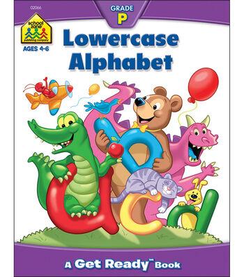 School Zone Preschool Workbooks 32 Pages-Lowercase Alphabet