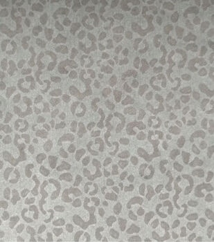 Sportswear Embossed Denim Stretch Fabric-Leopard