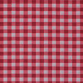 Wide Cotton Fabric-Red Gingham