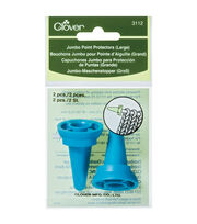 Clover 2 Pack Large Jumbo Point Protectors-Blue, , hi-res