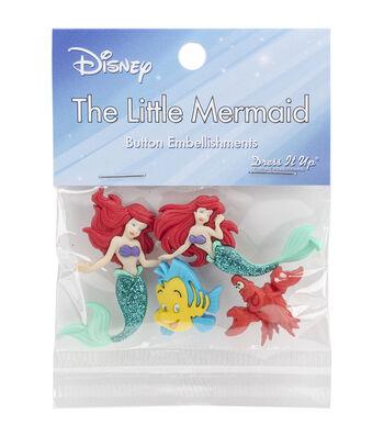 Jesse James Dress It Up Embellishments-Disney The Little Mermaid