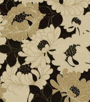 "Richloom Multi-Purpose Decor Fabric 54""-Tianna Onyx"