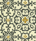 Home Decor 8\u0022x8\u0022 Fabric Swatch-HGTV HOME Souvenir Scroll Fog