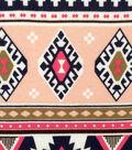 Doodles Juvenile Apparel Fabric -Large Scale Aztec Interlock