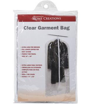 Innovative Home Creations 24''x54'' Garment Bag-Clear