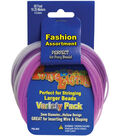 Pepperell Braiding Company Pony Bead Lacing 60\u0027 Variety Pack-Pastel