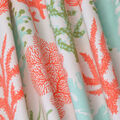 PKL Studio Outdoor Fabric-Coral Study Carib