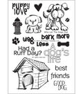 Technique Tuesday Clear Stamps 4\u0022X6\u0022-Who Let The Dogs Out