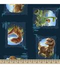 Disney PIXAR The Good Dinosaur Scenic Patches Cotton Fabric