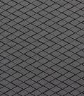 Yaya Han Cosplay Diamond Chevron Fabric-Black White