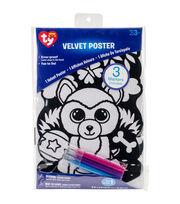 Beanie Boo Velvet Coloring Poster-Dog, , hi-res
