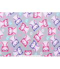 Anti-Pill Fleece Fabric 59\u0022-Patterned Owls