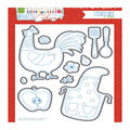 Photo Play Paper What\u0027s Cooking 10 pk Etched Dies