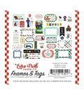 Echo Park Paper Co. Ephemera Die-cut Cardstock-Frames & Tags