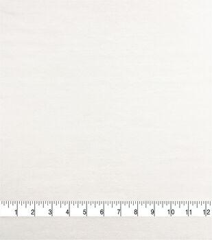 Knit Solids Pima Cotton Spandex Fabric-White