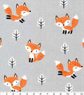 Nursery Cotton Fabric-Fox In The Forest