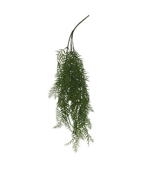 Bloom Room Artisan 29'' Leaf Hanging Bush-Green